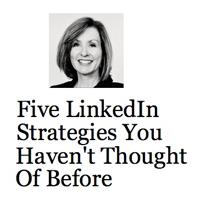 5 LinkedIn Strategies