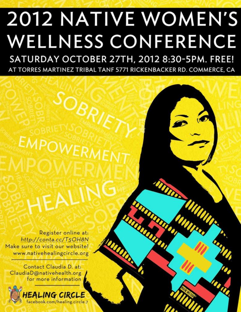 native-woments-wellness-flyer