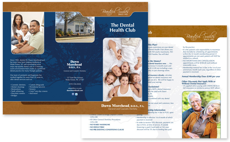 Small Business Brochures - Printing, Prices, Design & More!