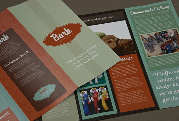 brochure design for boutiques - brochure templates top 25 free and paid options