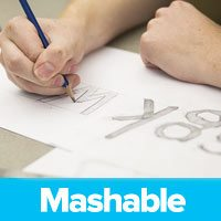 Mashable - logo design inspiration