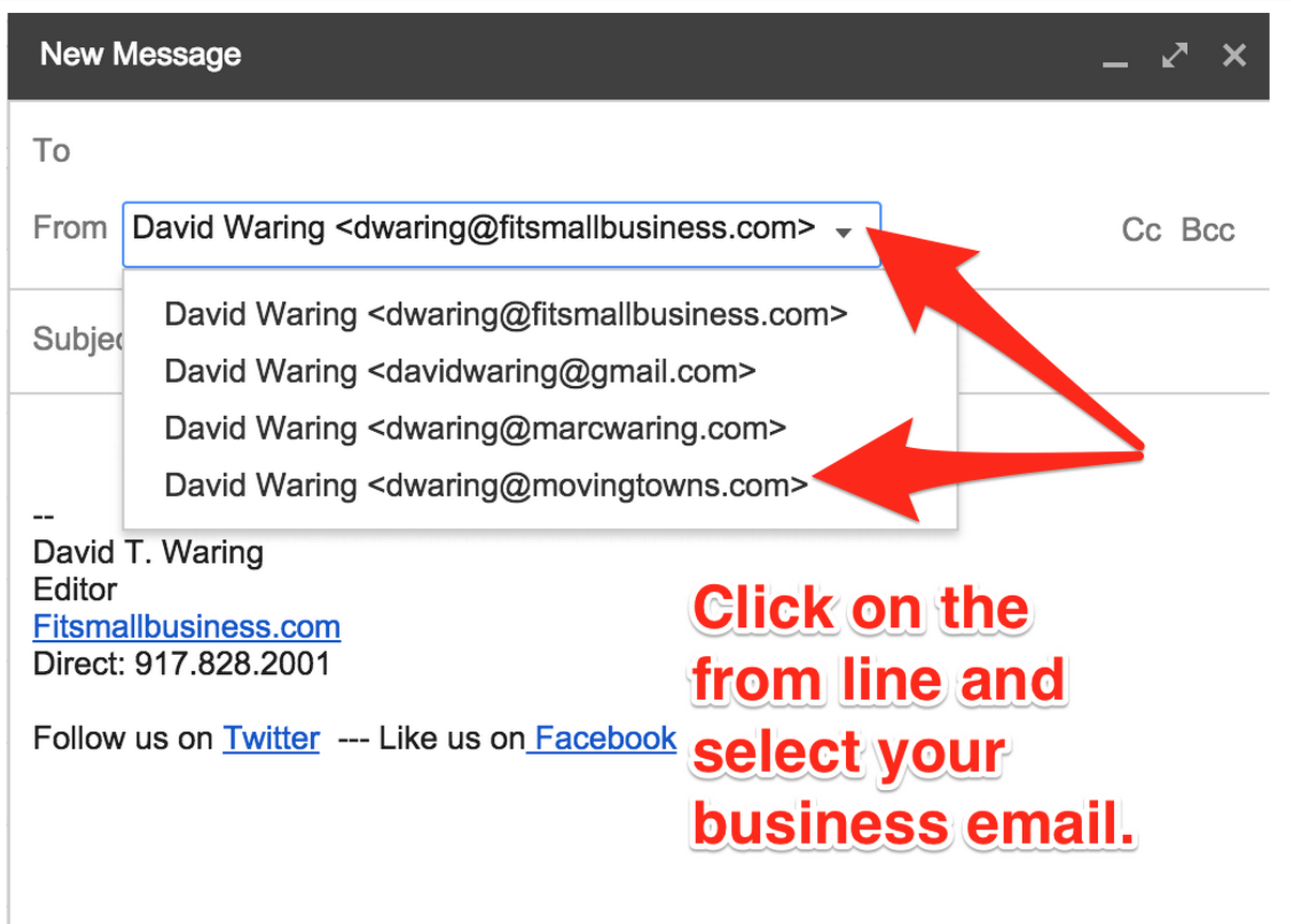 Send Email From Gmail