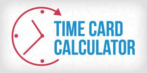 Time Card Calculator