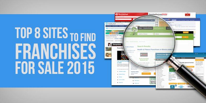 Top 8 sites to find franchises for sale for Best websites for sales