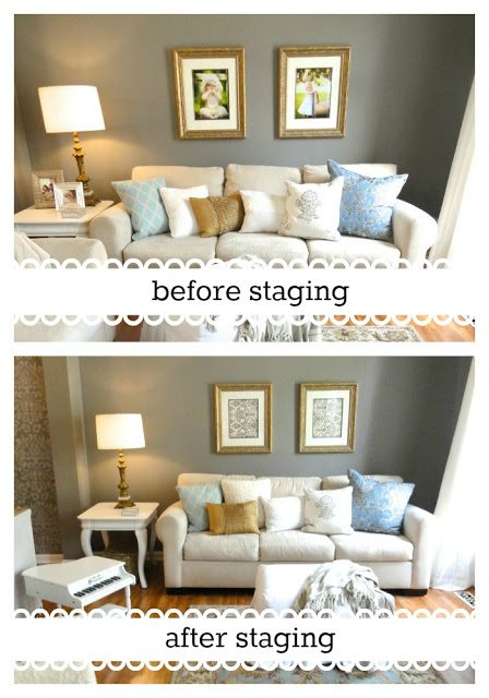 Add an inflatable bed with an easy DIY headboard to help your buyers  imagine themselves living in your home. 25 Top Home Staging Tips from the Pros