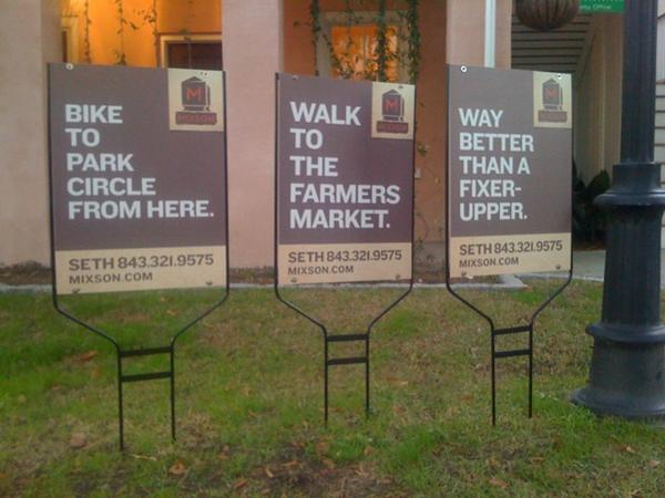 our 25 favorite real estate yard signs  creative