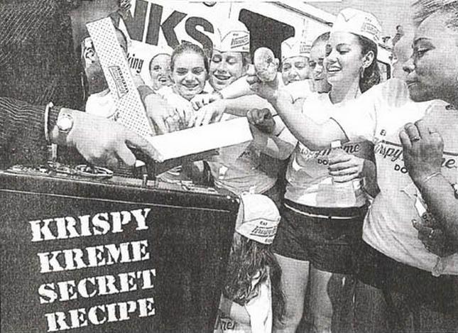 Giving Krispy Kreme Secret Doughnuts