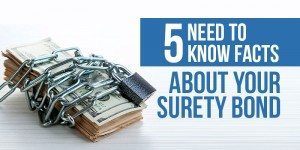 What Is a Surety Bond? Five Facts You Need to Know About Surety Bonds