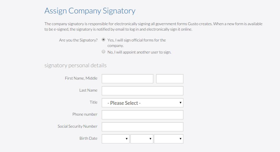 Gusto Signatory