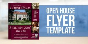 Free Open House Flyer Template – Downladable, Customizable Real Estate Template