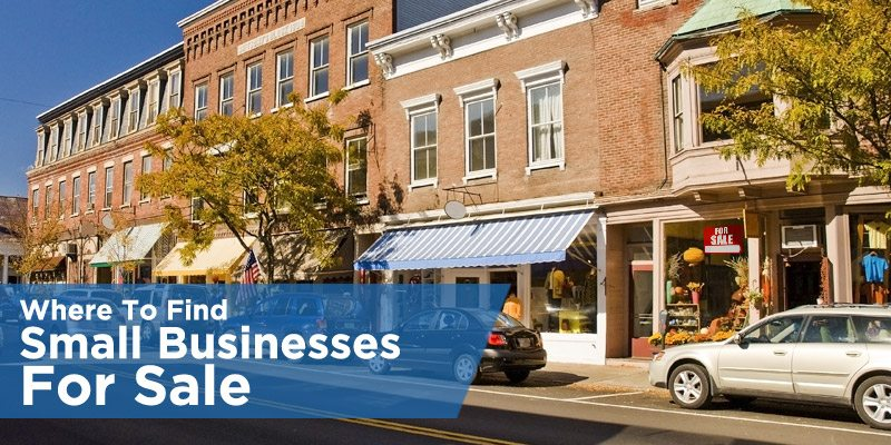 Where To Find Small Businesses For Sale
