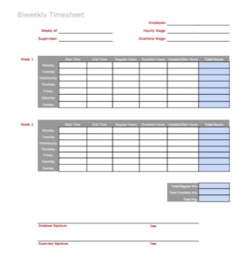 3 Free Timesheet Templates to Pay Employees with Ease