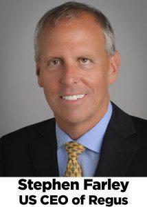 Stephen Farley, Regus CEO