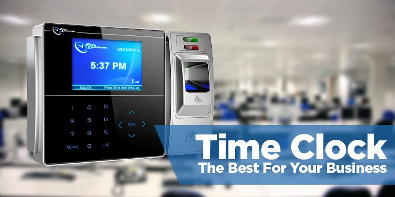 A10 Biometric Fingerprint Time Attendance Clock Recorder