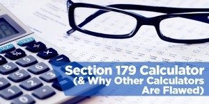 Section 179 Calculator (& Why Other Calculators Are Flawed)