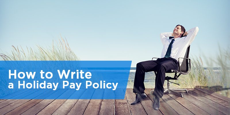 how to write a business policy