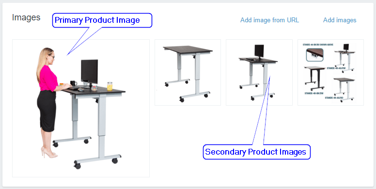 Primary and Secondary Product Images on Shopify