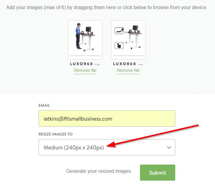 Shopify Free Image Resizer