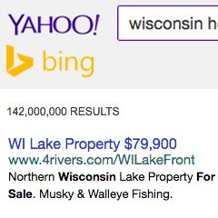 Real Estate Ads: Bing