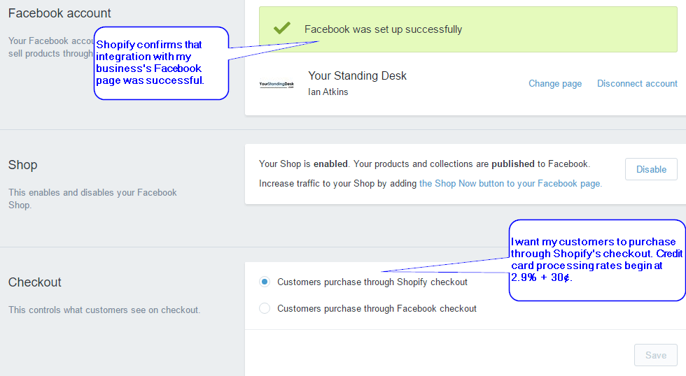 Using Shopify's Checkout