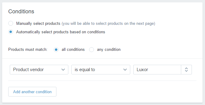 Rules to Automatically Add Products to Collections in Shopify