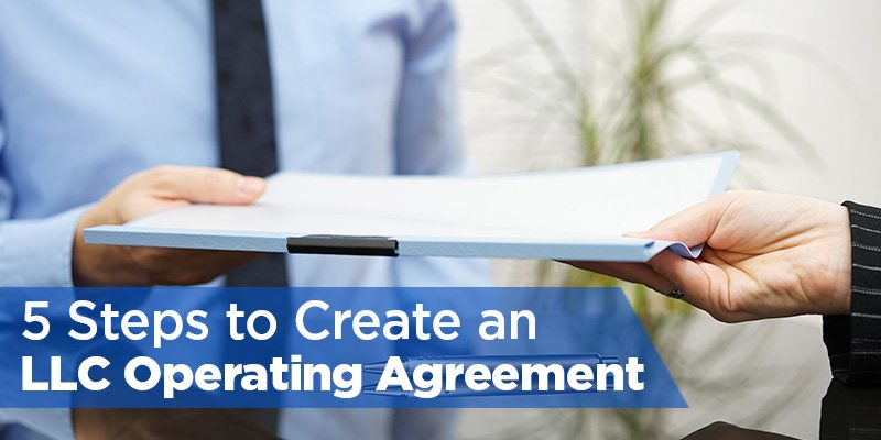 create an llc operating agreement in 5 steps    free template