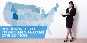 Best & Worst States to Get an SBA Loan
