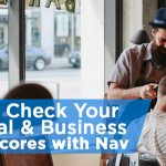 check personal and business credit with Nav