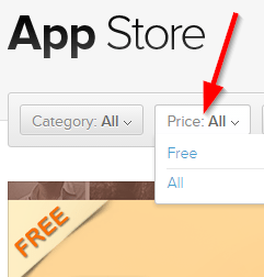 Shopify App Store Price