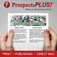 real estate flyer by ProspectsPLUS