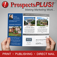 real estate flyer mailed by prospectsPLUS