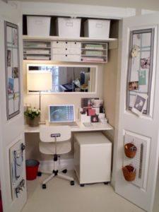 23 closet office