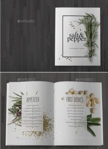 Bundle Minimal Food Menu