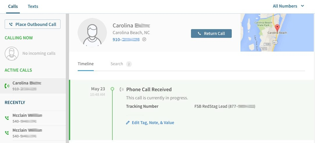 Call Tracking 1