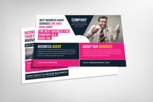 Energetic Business Postcard