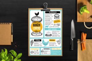 Menu Restaurant Template #26