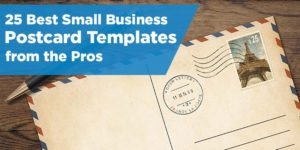 Top 25 Small Business Postcard Templates