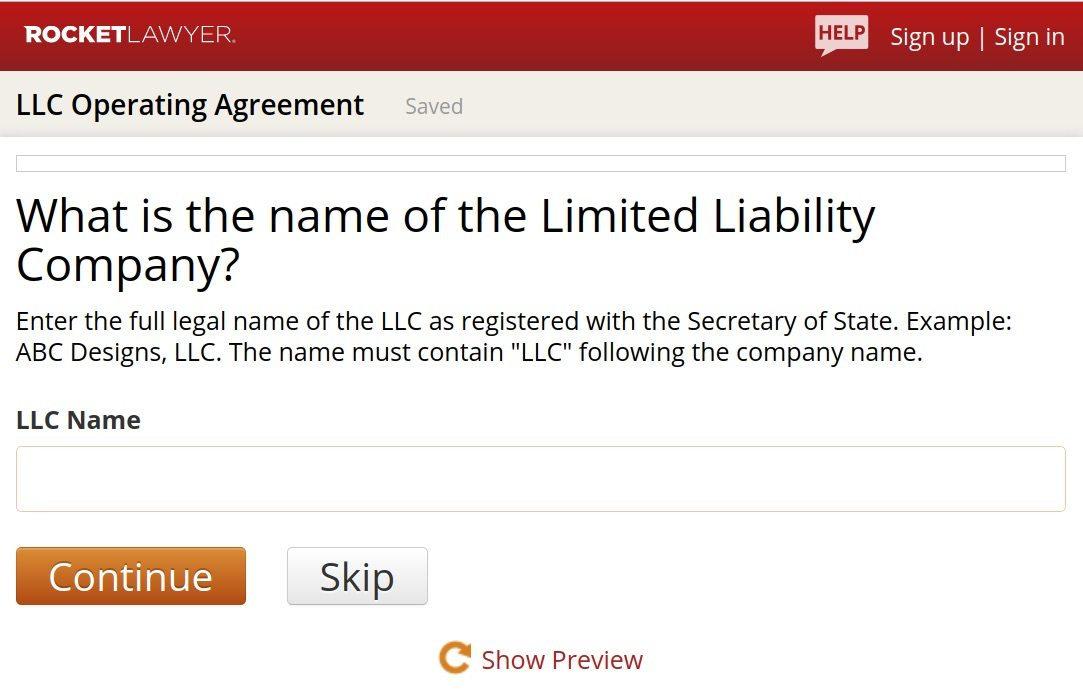 Create An Llc Operating Agreement In 5 Steps (+ Free Template)