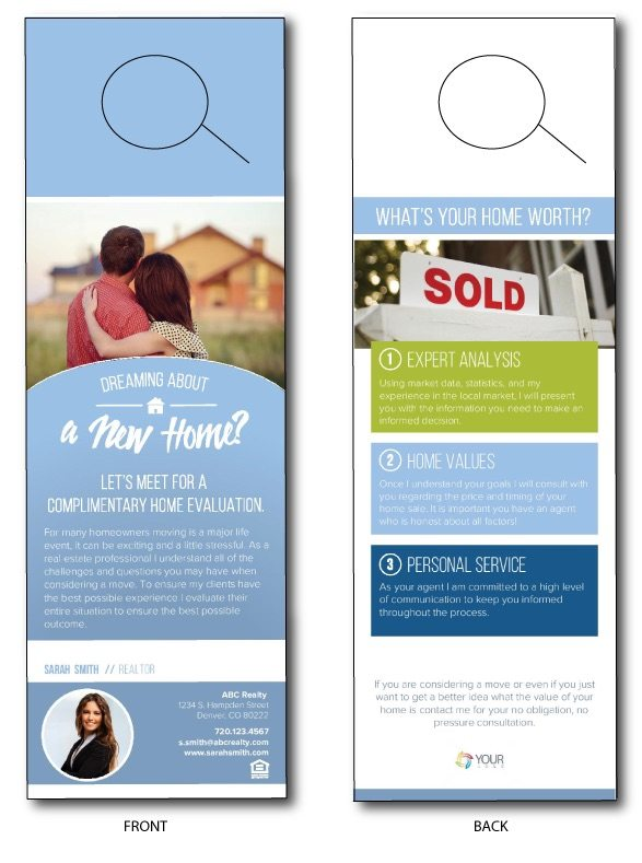Real Estate Door Hangers - How to Get More Leads With Front Door ...