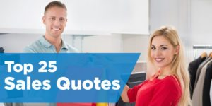 Top 25 Sales Quotes from the Pros