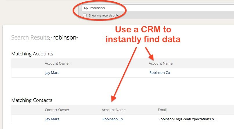 How to Use Zoho CRM Find Data