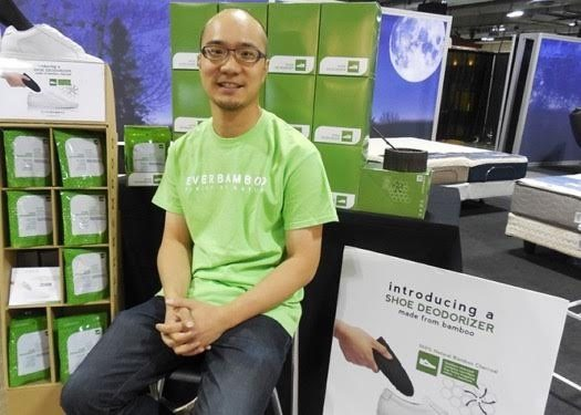 KB Lee, founder of Ever Bamboo