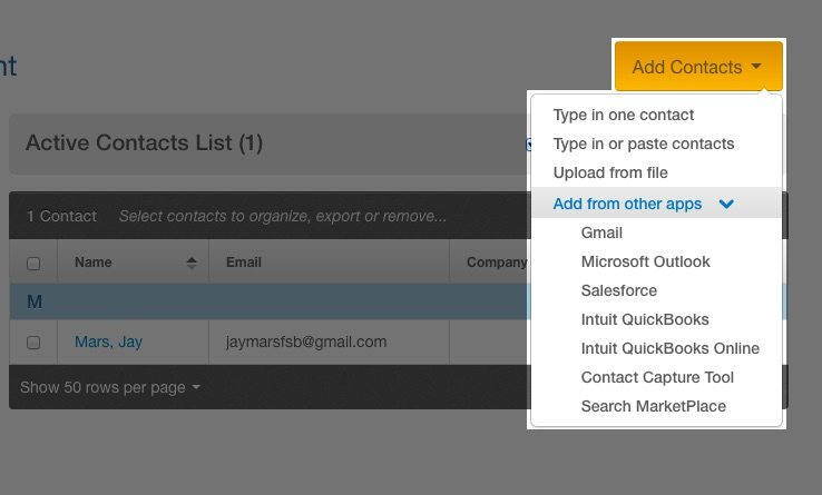 How to Use Constant Contact - Add Contacts
