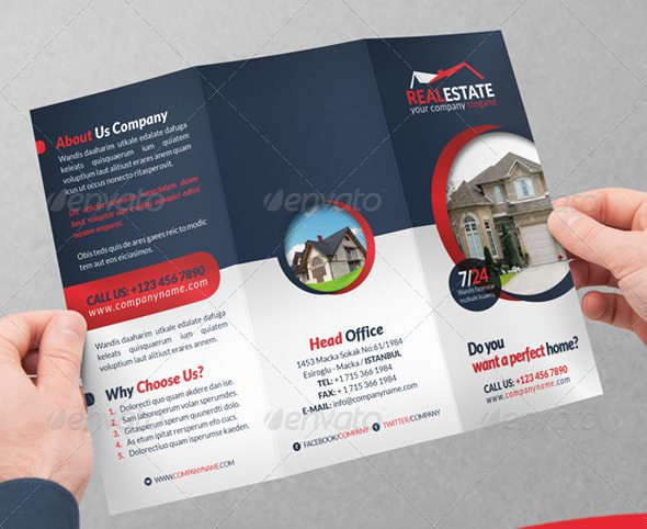 Grafilker Trifold Real Estate Brochure