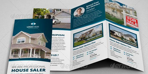 Jany Sultana Trifold Real Estate Brochure