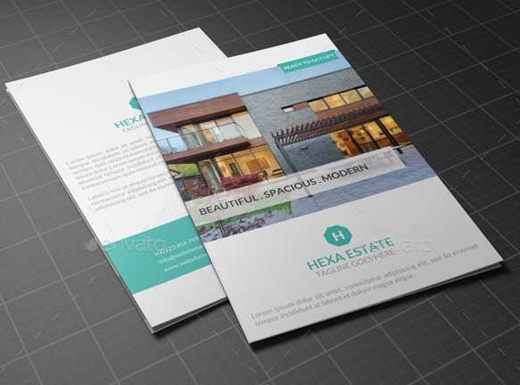 Kaent Bifold Real Estate Brochure