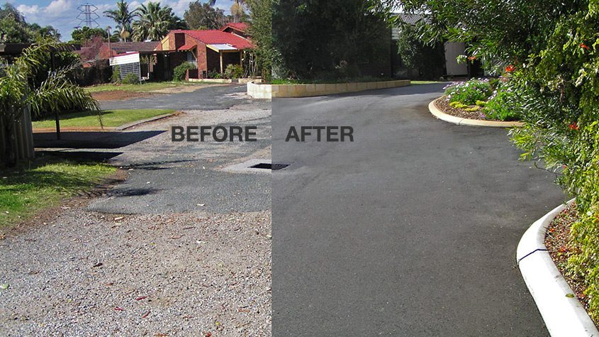 Asphalt Before : After