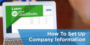 How to Set Up Company Information in Quickbooks Online