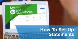 How to Set Up Statements in QuickBooks Online