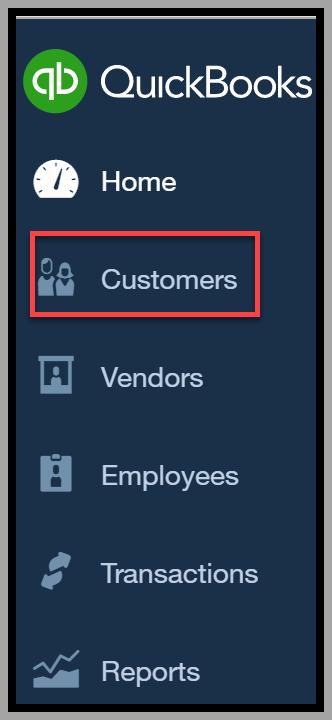 QuickBooks Online Customers Tab